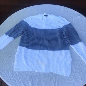 J Crew Sailor Striped Colorblocked Sweater